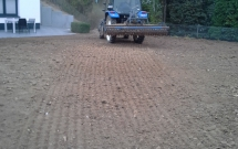 Bodenbearbeitung mit Kreiselegge