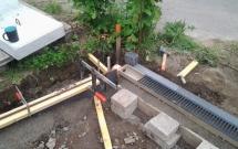 Stahlbandeinfassung für Pflasterfläche 2012